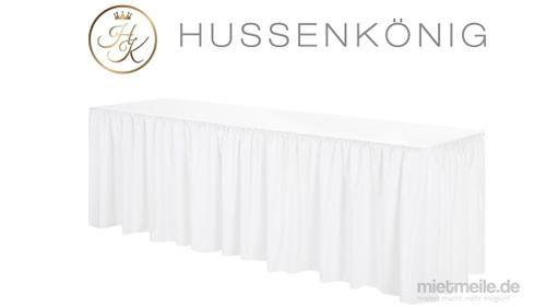 Hussen für Bierzeltgarnitur / Bierbankhussen / Biertischhussen / Hussen von Hussenkönig / Tischdecke