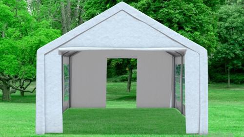 4x6m hochwertiges Party Zelt mit Seitenwänden
