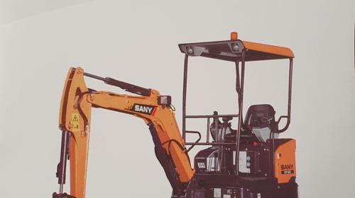 Minibagger  1,75 to  Grabschaufel  Planierschild