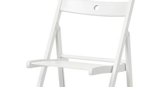 Hochzeitsstuhl // Traustuhl // weißer Klappstuhl // Holzstuhl // weißer Hochzeitsstuhl