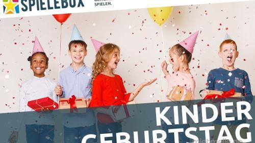Spielebox - Kindergeburtstag. Ein lustiger Partyspaß für zu Hause
