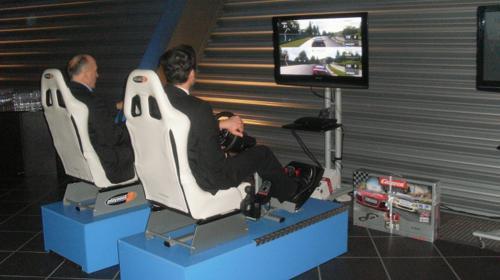 RACING SEATS / RENNSIMULATOR / RENNSITZE / AUTORENN-SIMULATOR