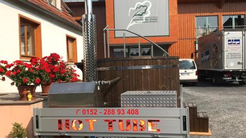 mobiler beheizbarer Hot Tube / Whirlpool  zu vermieten
