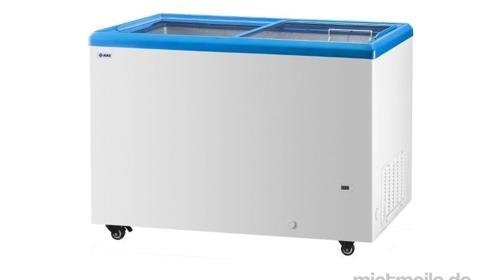 Eistruhe, Tiefkühltruhe, Gefriertruhe, Kühltruhe - 350 l, weiß, rollbar
