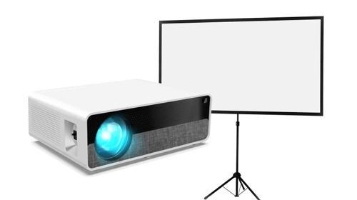 Full HD Beamer zu vermieten! Präsentation Kino Party Video mieten