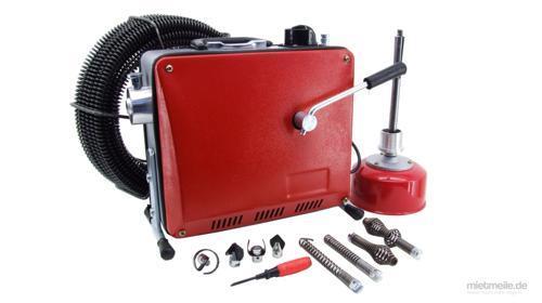 15m Profi Rohrreinigungsspirale Rohrreinigungsgerät Rohrreinigungsmaschine