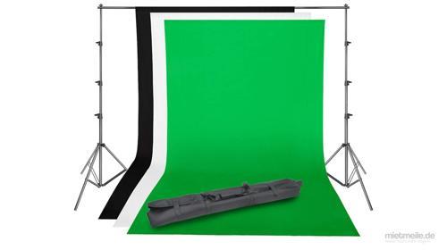 Foto-Hintergrund Fotowand Greenscreen Hintergrund-System