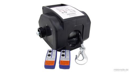 Elektrische Seilwinde mobile Motorwinde Bootswinde