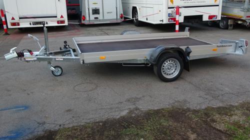 Humbaur HKT 18 31 17 Motorradtransportanhänger
