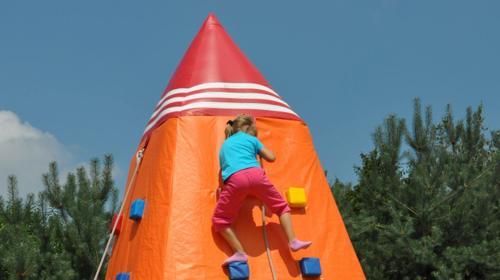 Kletterberg / Kletterhügel / Mobiles Klettern / Kids Climbing