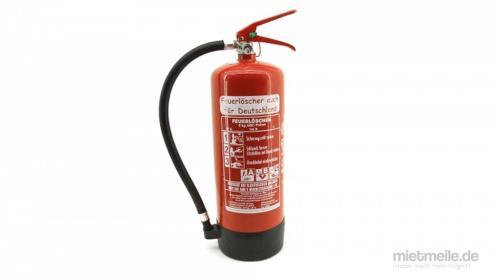 Pulver-Feuerlöscher ABC-Pulverlöscher 6kg