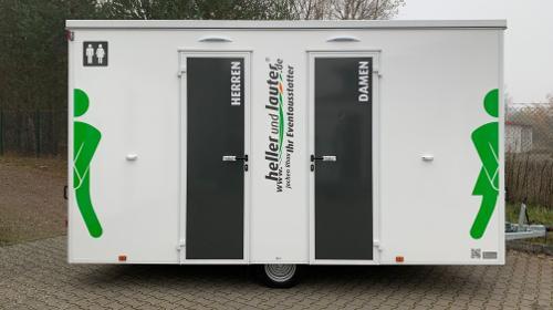 Toilettenwagen mieten / Mobile Toilette / WC-Wagen Typ: M VIP