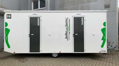 Toilettenwagen mieten / Mobile Toilette / WC-Wagen Typ: L VIP