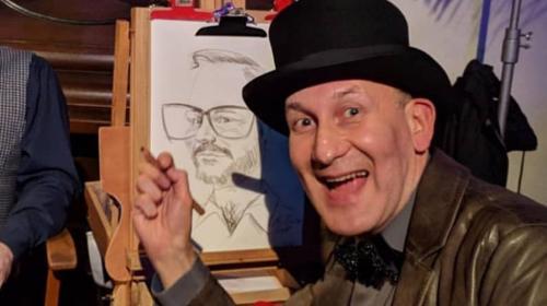 Ihr Karikaturzeichner und Schnellzeichner zeichnet Sie und Ihre Gäste auf Ihrer Feier, bundesweit