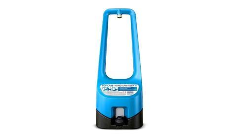 TOI CARE HANDSANITIZER / DESINFEKTIONSSTATION /Handdesinfektionsspender/ Miettoilette/ DIXI-Klo/ Zertifizierte Entsorgung/ TOI Protect Pro/ Hygiene/ Waschbecken/ Baustelle/ TOI TOI
