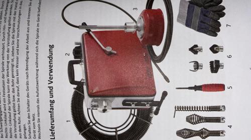 Rohrreinigungsgerät