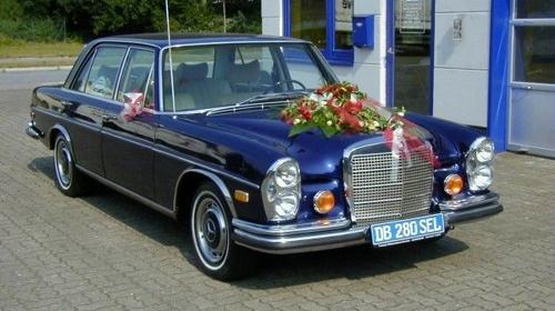 Mercedes Benz/Limousine/Mietfahrzeug/Mietwagen/Oldtimer/Klassiker