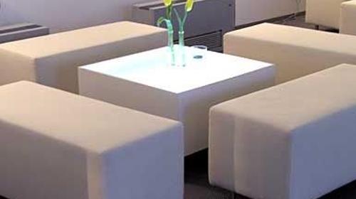 Loungemöbel, Loungesitzgruppe, Lightning, weiß