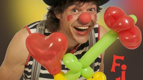 Clown Filou`s bunte Luftballonwelt