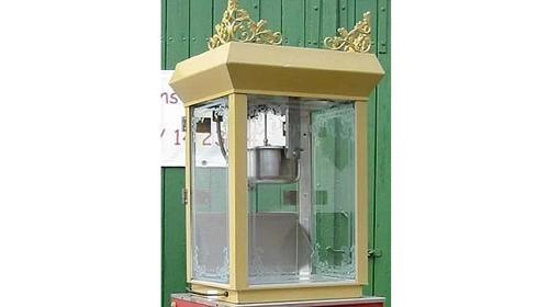 Popcornmaschine gold, deluxe inkl. 19% MwSt.