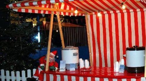 Glühweinstand für den Weihnachtsmarkt, inkl. 19% MwSt.