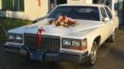 Cadillac Fleetwood/Limousine/Oldtimer/Mietfahrzeug/Mietwagen/Klassiker