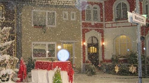 Schneekanone / Schneemaschine / Schnee-Effekt auf Fluidbasis - Einsatz bei jeder Temperatur! Inkl. 19% MwSt.