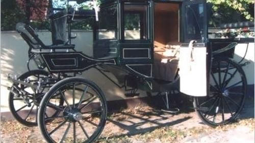 Kutsche/ Hochzeitskutsche/ Nostalgiefahrt