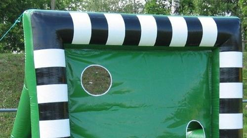 aufblasbare Fußballtorwand / aufblasbares Fußballtor inkl. 19% MwSt.