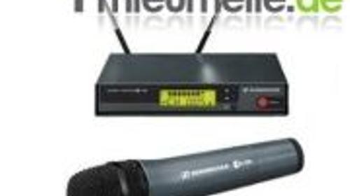 Professionelle Funkmikrofone mit Handsender, Anstecker oder Headset
