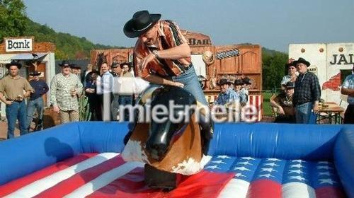 Bullriding Rodeostier Multiride mieten