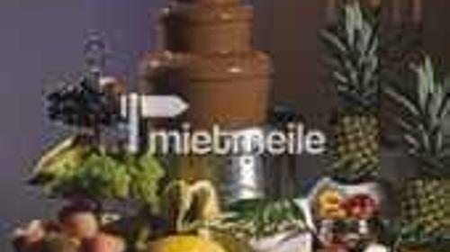 Schokoladenbrunnen, Catering, Cocktailbar