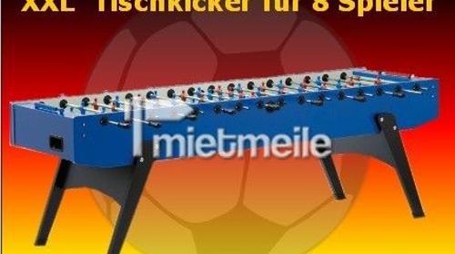 XXL Tischkicker für 8 Spieler