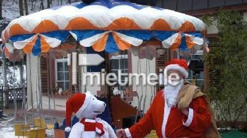 Kinderkarussell, Kettenfieger, Weihnachten