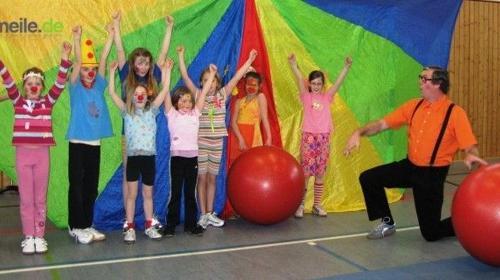 Kinder-Mitmach-Circus - ein Höhepunkt auf Ihrer Veranstaltung.