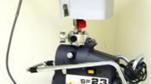Airlessgerät für Dispersions- und Fassadenfarben