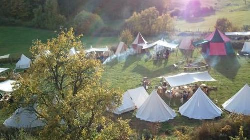 Party-Location mit Mittelalter-Ambiente