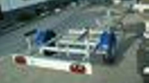 Bootstrailer 750kg ungebremst