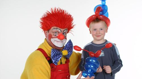 Clown-Zauberer-Bobby