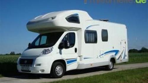 Luxus Wohnmobil Caravan bis 4 Personen Sat/Tv Klima Tempomat Festbett