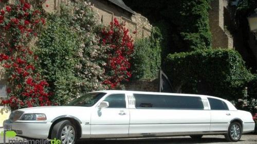 Stretchlimousine als Brautauto, Hochzeitlimousinen, Limousinen