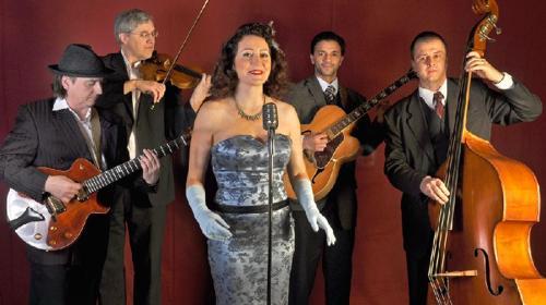 Jazzband, Swingband Viola con Padrinos aus Berlin