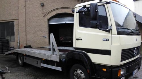 Abschleppwagen DB 814 speziell für Wohnwagen