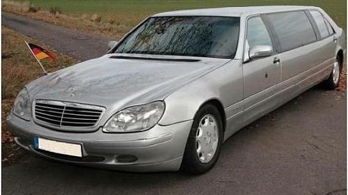 Mercedes-Benz Stretchlimo, ideal als Hochzeitsauto, bundesweit inkl.Chauffeur