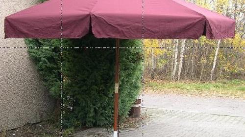 Sonnenschirm Bordaux 3,5m