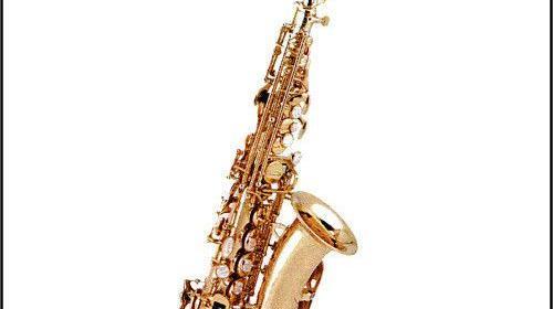 Bb-Sopran-Saxophon gebogene Bauweise Vermietung
