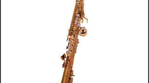Bb-Sopran-Saxophon gerade Bauweise Vermietung