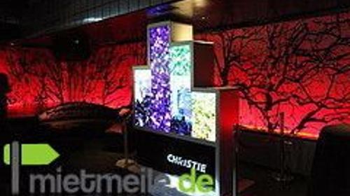 CHRISTIE MICROTILES steglose Videoleiste LED
