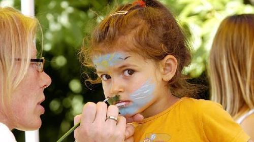 Kinderschminken inkl. 1 Schminkdame (6 Std.)