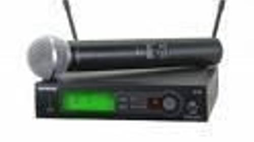Shure SLX SM58 Funkmikrofon